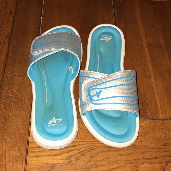 Blue Athletech Sandals   Poshmark